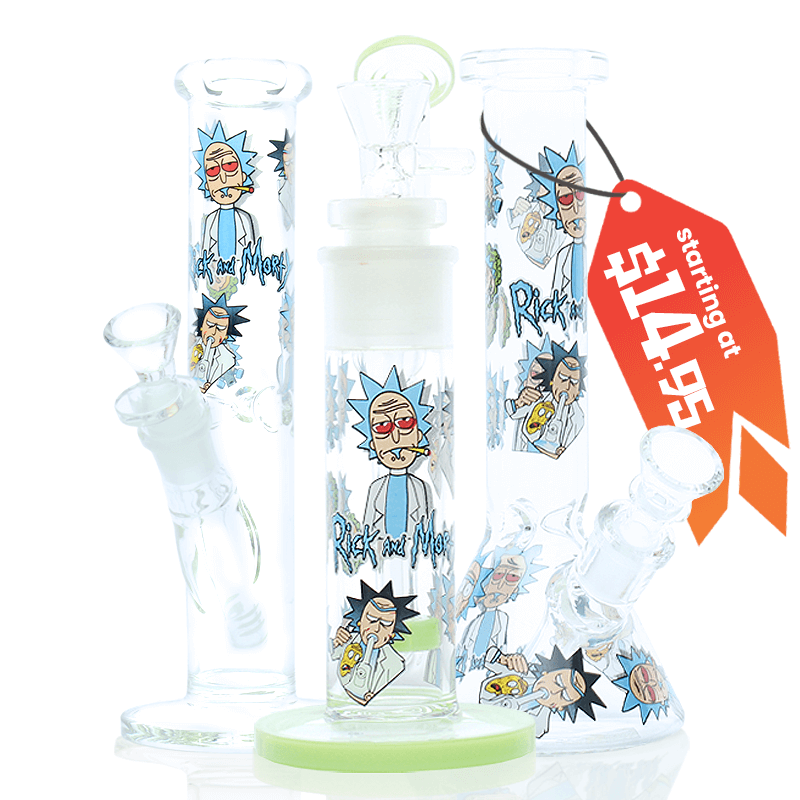 Rick and Morty bongs