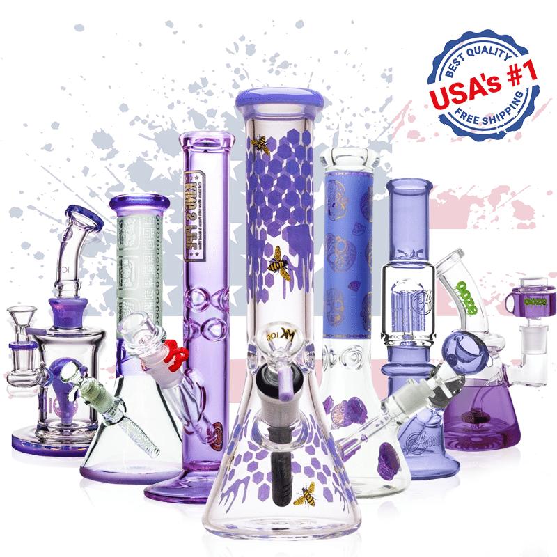 USA's #1 purple bong shop