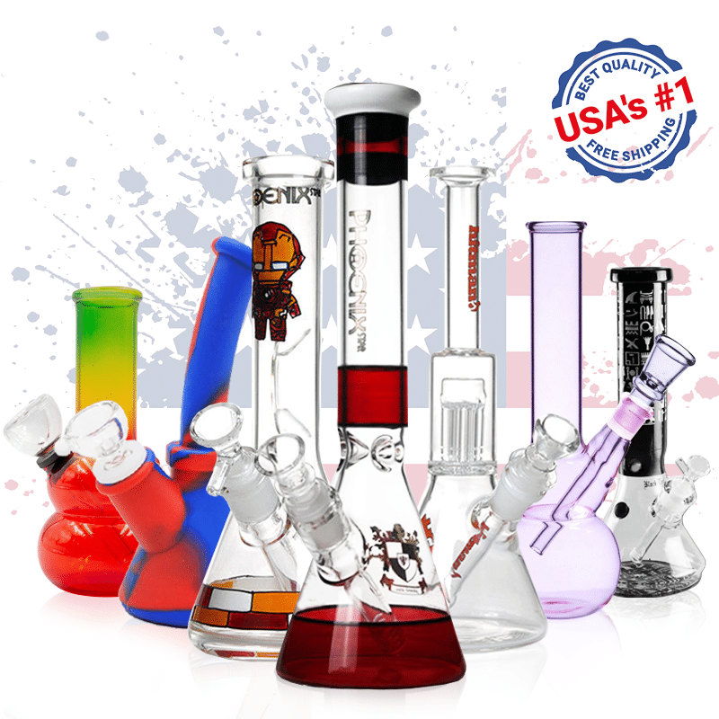 coolest water bongs in the USA