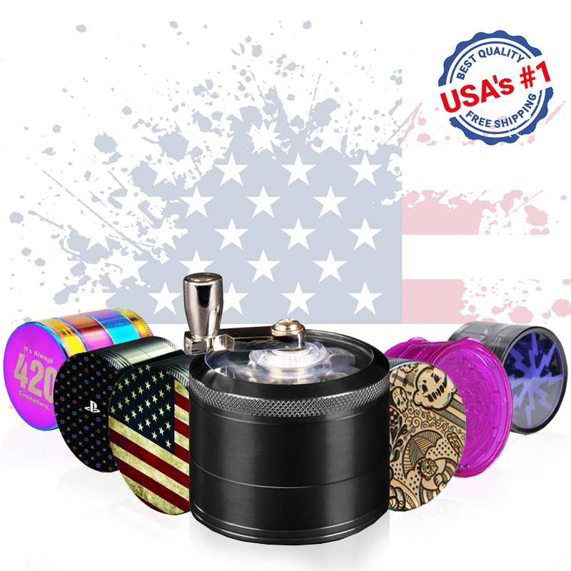 best grinders in the USA by iSmokeAlot