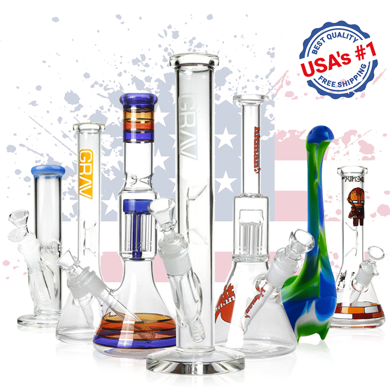 Buy bongs and water pipes online